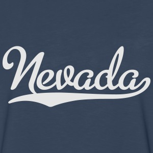 Nevada T-Shirt - Men's Premium Long Sleeve T-Shirt