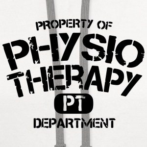 Physical Therapy Department PT T-Shirts - Contrast Hoodie