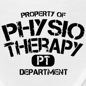 Physical Therapy Department PT T-Shirts - Bandana