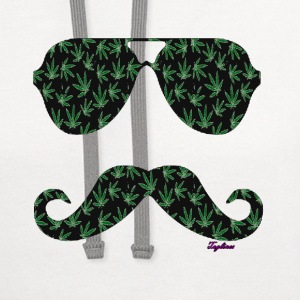 MUSTACHE T-Shirts - Contrast Hoodie