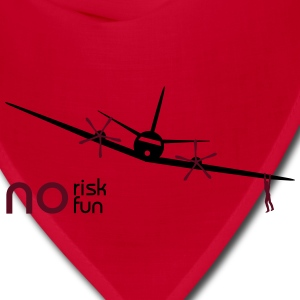 no risk no fun aircraft - Bandana
