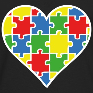 Autism Puzzle - Men's Premium Long Sleeve T-Shirt