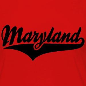Maryland State T-Shirt WR - Women's Premium Long Sleeve T-Shirt