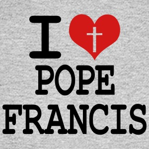 I love Pope Francis Women's T-Shirts - Men's Long Sleeve T-Shirt
