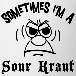 Sometimes I'm A Sour Kraut T-Shirt - Coffee/Tea Mug