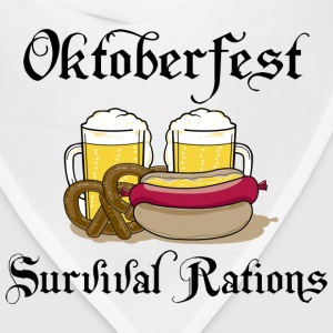 Oktoberfest Survival Rations T-Shirt - Bandana