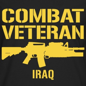 Combat Veteran Iraq  - Men's Premium Long Sleeve T-Shirt