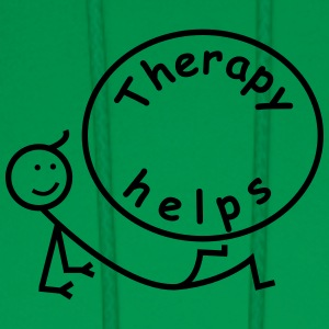 Therapy helps. T-Shirts - Men's Hoodie
