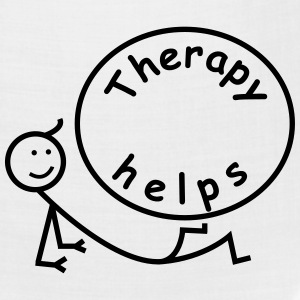Therapy helps. T-Shirts - Bandana