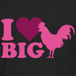 I Love Big - Men's Premium Long Sleeve T-Shirt