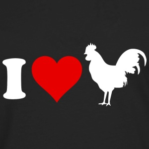 I Love Cock - Men's Premium Long Sleeve T-Shirt