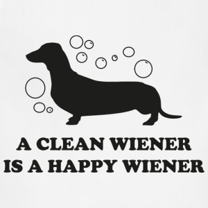 A Clean Wiener Is A Happy Wiener - Adjustable Apron
