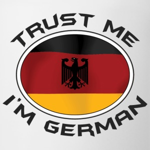 Trust Me I'm German T-Shirt - Coffee/Tea Mug