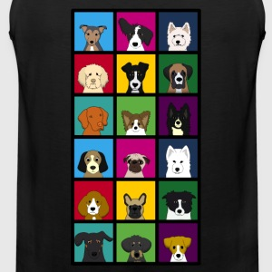 18 dogs Women's T-Shirts - Men's Premium Tank