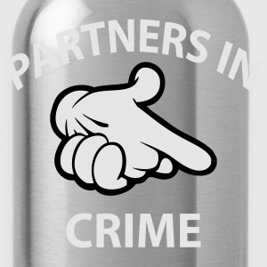 partners in crime T-Shirts - Water Bottle