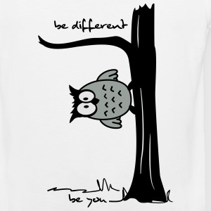 Owl on tree - be different, be you Women's T-Shirts - Men's Premium Tank