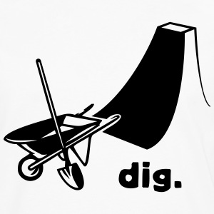 dig - Men's Premium Long Sleeve T-Shirt