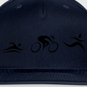 Triathlon T-Shirts - Snap-back Baseball Cap