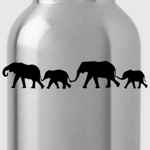 elephant Family Shirt - Water Bottle