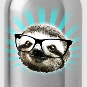 Cute! Hipster Sloth - Water Bottle
