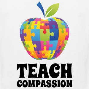 Teach Compassion - Men's Premium Tank
