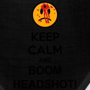 Keep Calm And Boom Headshot T-Shirts - Bandana