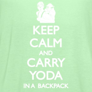 Keep Calm and Carry Yoda Ladies - Women's Flowy Tank Top by Bella
