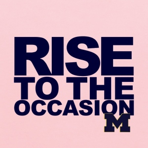 Michigan Kids Rise to the Occasion Shirt - Kids' Hoodie