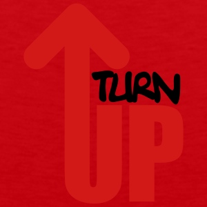 Turn Up T-Shirts - Men's Premium Tank