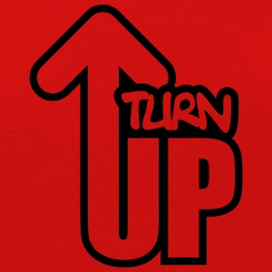 Turn Up T-Shirts - Women's Premium Long Sleeve T-Shirt