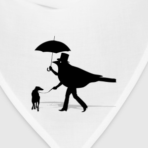 Bird Walking a Dog - Bandana