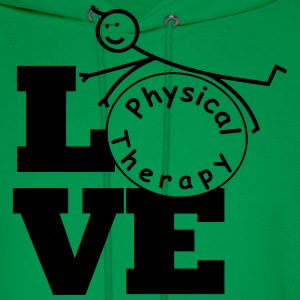 LOVE physical therapy  T-Shirts - Men's Hoodie