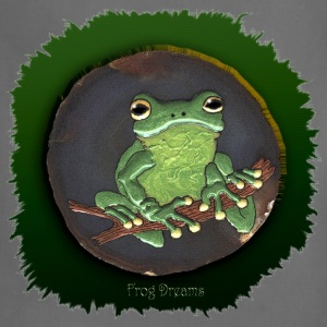 Frog Dreams Green Tree Frog - Adjustable Apron
