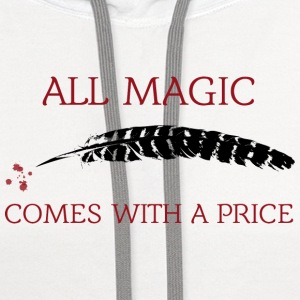 OUAT Quote: All magic comes with a price - Contrast Hoodie