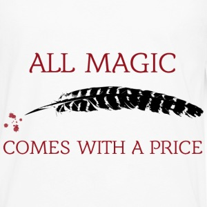 OUAT Quote: All magic comes with a price - Men's Premium Long Sleeve T-Shirt