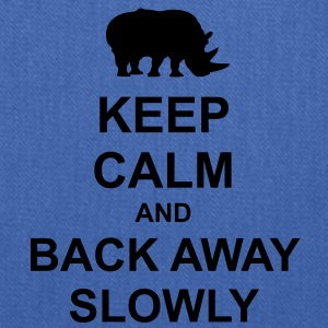 Keep Calm and Back Away Slowly - Tote Bag