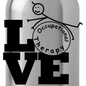 LOVE Occupational Therapy T-Shirts - Water Bottle