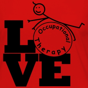 LOVE Occupational Therapy T-Shirts - Women's Premium Long Sleeve T-Shirt