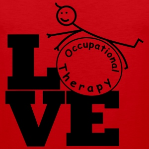 LOVE Occupational Therapy T-Shirts - Men's Premium Tank