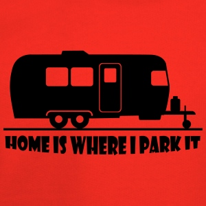 home_is_where_i_park_it T-Shirts - Kids' Premium Hoodie