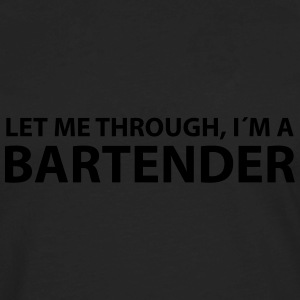bartender T-Shirts - Men's Premium Long Sleeve T-Shirt