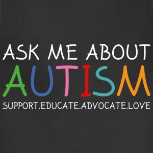 Ask Me About Autism - Adjustable Apron