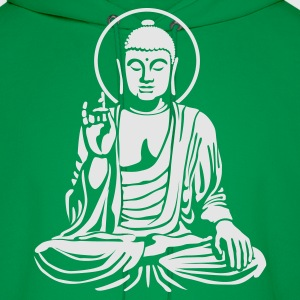 Young Buddha No.1_1c T-Shirts - Men's Hoodie