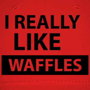 i really like waffles T-Shirts - Baseball Cap