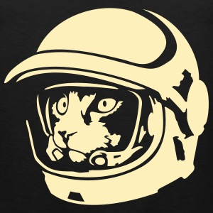 Space cat astronaut - Men's Premium Tank