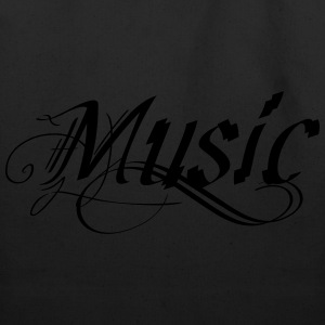 Music T-shirt - Eco-Friendly Cotton Tote