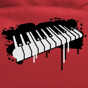 Piano keyboard in graffiti style T-Shirts - Computer Backpack