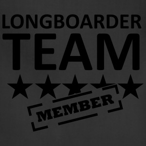longboarder_team T-Shirts - Adjustable Apron