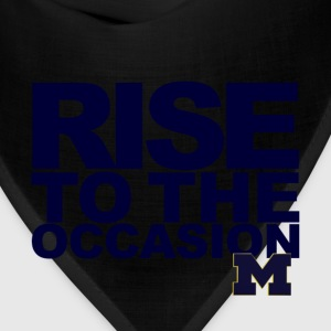 Michigan Rise to the Occasion Shirt T-Shirts - Bandana