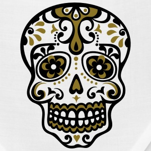 Skull, Mexico, flowers, patterns, skulls, mexican, Women's T-Shirts - Bandana